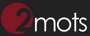 Martin Bohn - 2mots.fr - Logo fond gris 2