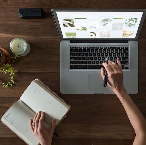 Matrice d'écriture pour préparer la production éditoriale, par Martin Bohn