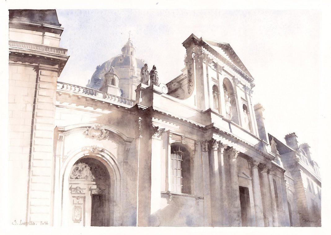 Chapelle de la Sorbonne, par Jérémy Soheylian